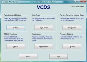 Controller channels map con vagcom